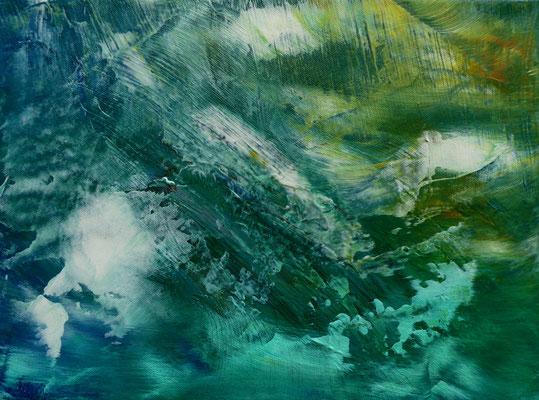 """Spaceless II"" Acrylic on Canvas 30x40cm 2020"