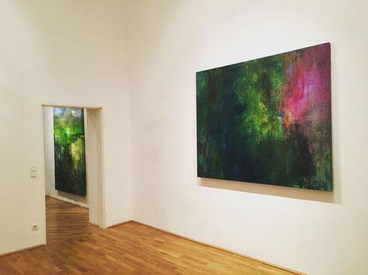 Galerie Felix Höller Vienna ERZSEBET NAGY SAAR FREQUENCY Solo Exhibition 2019