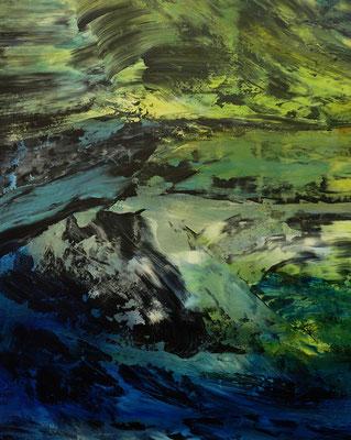 """Beharrlichkeit"" Acrylic on Canvas 80x100cm 2020"