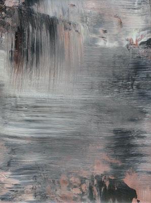 """"""" inner space IV"""" Acrylic on Canvas 30x40cm 2020"""