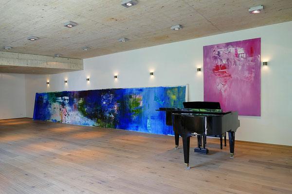 Filmquartier Vienna Silent Loft ERZSEBET NAGY SAAR Soiree Inside/Out Solo Exhibition 2018