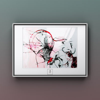 Nr2. 40x60cm Limited Edition Signed and Numbered