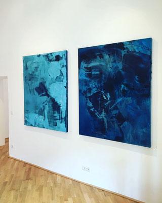Erzsebet Nagy SAAR GALERIE FELIX HÖLLER Solo Exhibition 2018