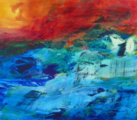 """""""Schöpferisch"""" Acrylic on Canvas 160x170cm 2020"""