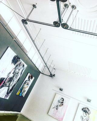 EGA Vienna ERZSEBET NAGY SAAR Solo Exhibition 2017
