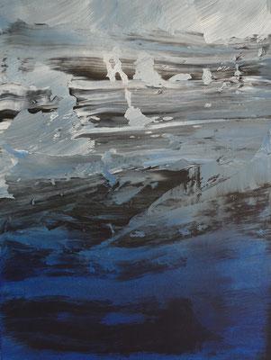 """"""" inner space I """" Acrylic on Canvas 30x40cm 2020"""