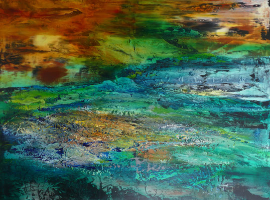 """Heiter"" Acrylic on Canvas 150x200cm 2020"