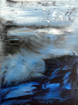 """ inner space III"" Acrylic on Canvas 30x40cm 2020"