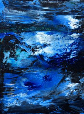 """""""die Wiederkehr"""" Mixed Media on Canvas 60x80cm 2020"""