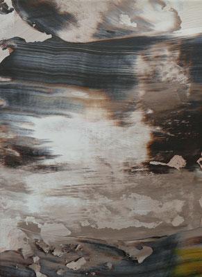 """"""" inner space V"""" Acrylic on Canvas 30x40cm 2020"""