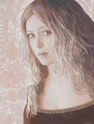 SELF Oil on Canvas 38x40cm