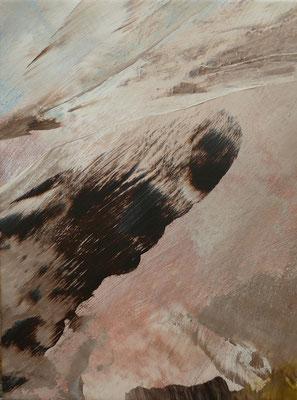 """"""" inner space VI"""" Acrylic on Canvas 30x40cm 2020"""