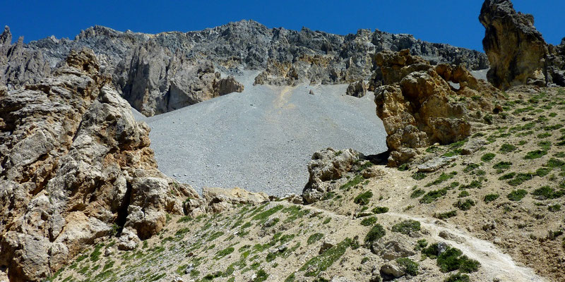 col d'Izoard 2 360 m (AU BOUT DES PIEDS)