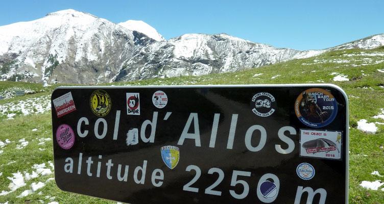 col d'Allos (AU BOUT DES PIEDS)