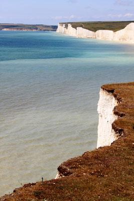 Seven Sisters cliffs, South Downs (Au Bout des pieds)