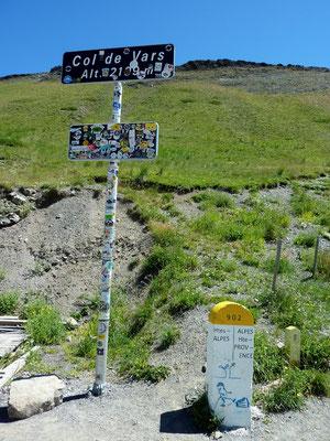 col de Vars 2 109 m (AU BOUT DES PIEDS)
