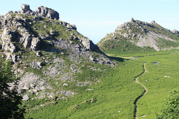 Valley of Rocks, Exmoor (Au Bout des pieds)