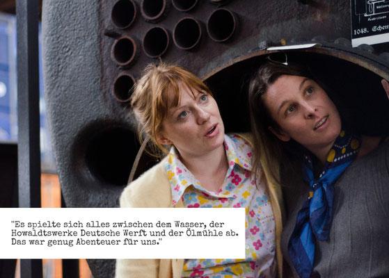 """Christin Jugsch und Miriam Gronau in """"Kinder von Neuhof"""""""