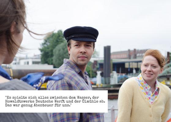 """Fridtjof Matti Bundel und Christin Jugsch in """"Kinder von Neuhof"""""""