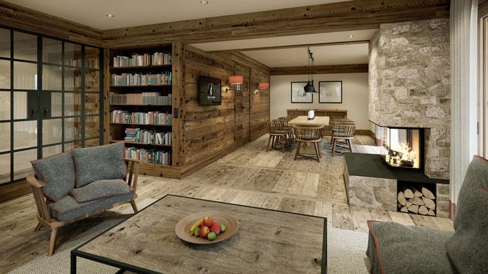 Rendering Loungebereich