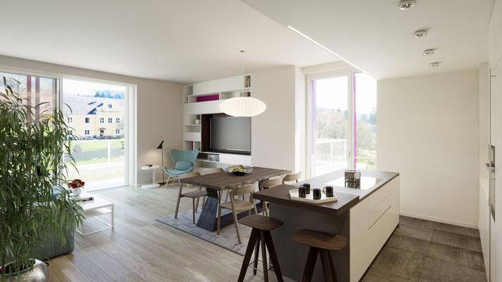 Rendering Penthouse Essen