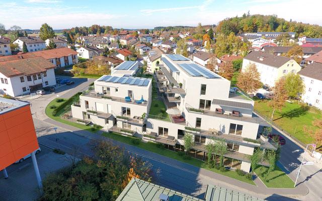 Blick vom Klinikum Traunstein
