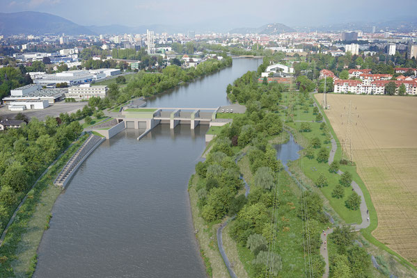 Rendering Kraftwerkspark MKWG