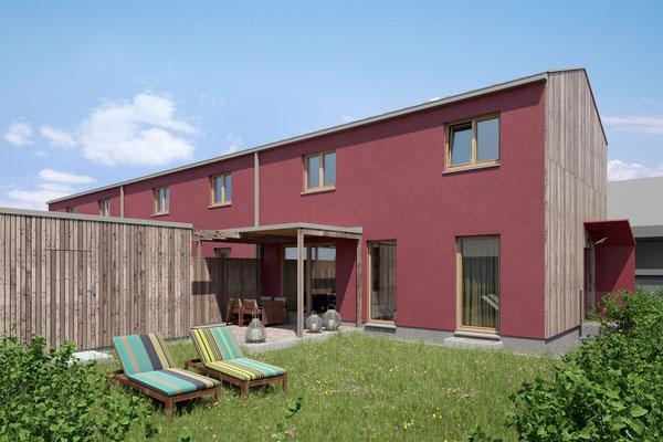 Visualisierung Garten Wohnung 1