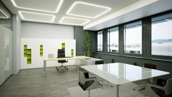 Rendering Vorstandsbüro 2