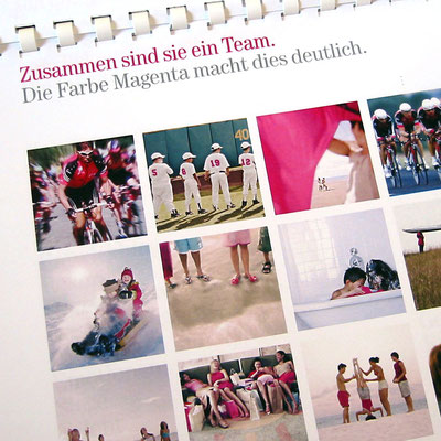 Interbrand Zintzmeyer & Lux, Bildsprachekonzept Deutsche Telekom