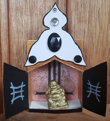 middelgroot met Buddha