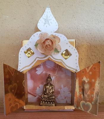 middelgroot met Tibetaanse Buddha