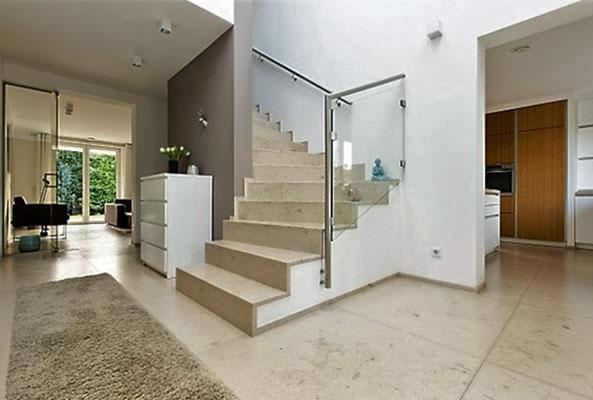 Hanser + Pfafferott - Dietfurter Kalkstein verleiht Wohnräumen einen eleganten, maritimen Touch!