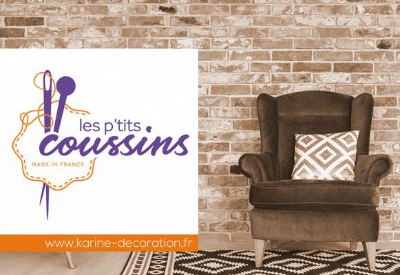 LES P'TITS COUSSINS • Identité visuelle • Saint-Nazaire