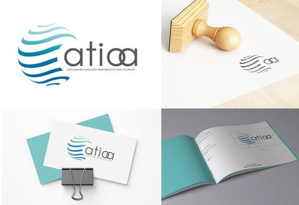 ATIOA • Logo / Charte Graphique - Guérande