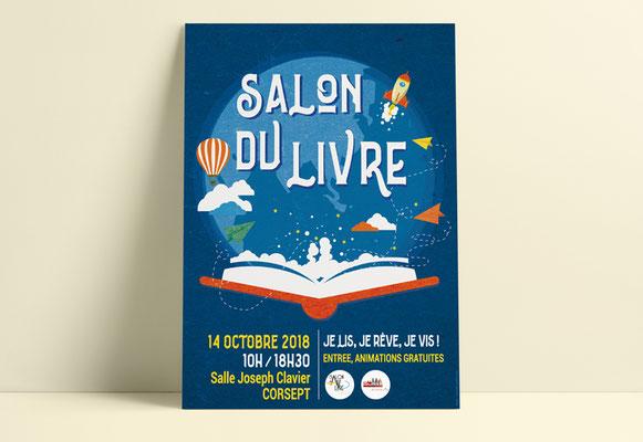 SALON DU LIVRE • Affiche - Ville de Corsept
