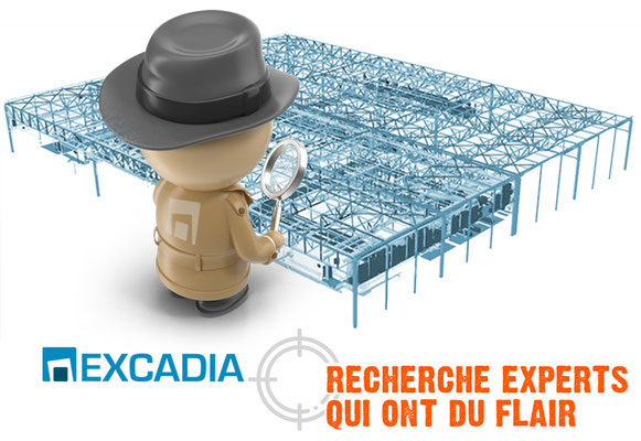 EXCADIA • Visuel digital - Saint-Herblain