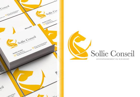 SOLLIE CONSEIL • Identité visuel - Loire-Atlantique