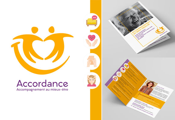 ACCORDANCE • Naming / Logo / Plaquette Commerciale - Loire-Atlantique