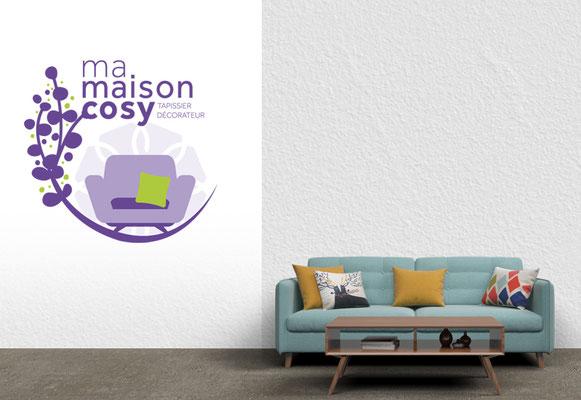 MA MAISON COSY • Logo - Saint-Nazaire