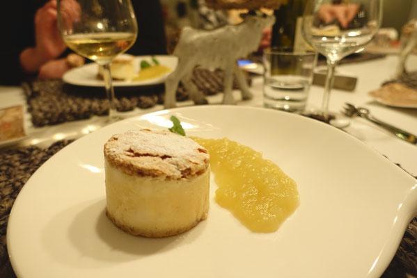 Mädchenvöllerei Pi mal Butter Food Blog Saarland Kochen Rezepte Cooking Cook Apfel-Parfait-Törtchen mit frischem warmen Apfelmus
