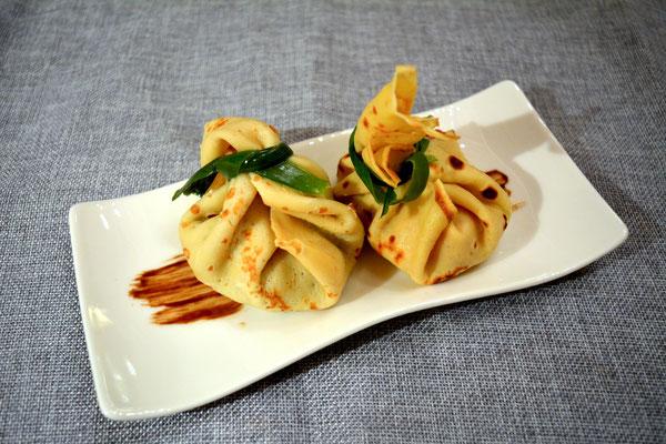 Pi mal Butter Mädchenvöllerei Saarland Rezept Food Blog Crepe Füllung Caprese Pilze Bacon