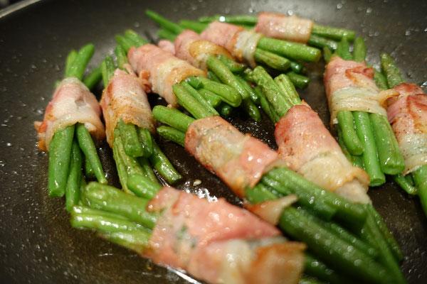 Mädchenvöllerei Pi mal Butter Food Blog Saarland Kochen Rezepte Cooking CookSpeckbohnen Bohnen Bacon