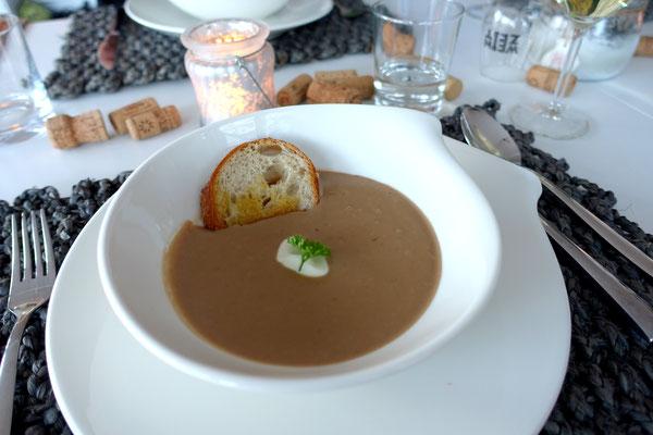 Maronen Maronensuppe Suppe Rezept Food Blog Pi mal Butter Mädchenvöllerei Saarland