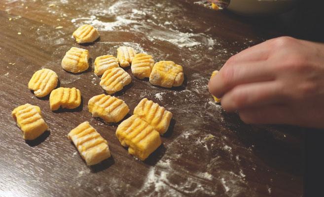 Pi mal Butter Mädchenvöllerei Food Blog Saarland Kürbis Gnocchi