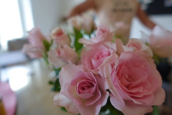Pi mal Butter Mädchenvöllerei - Rosen Blume