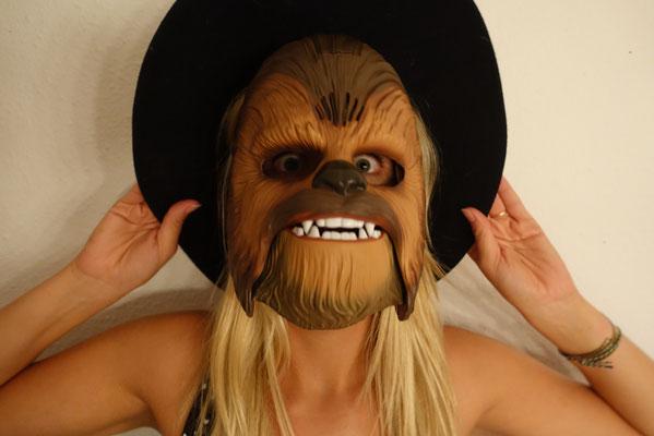 Pi mal Butter Mädchenvöllerei Chewbacca