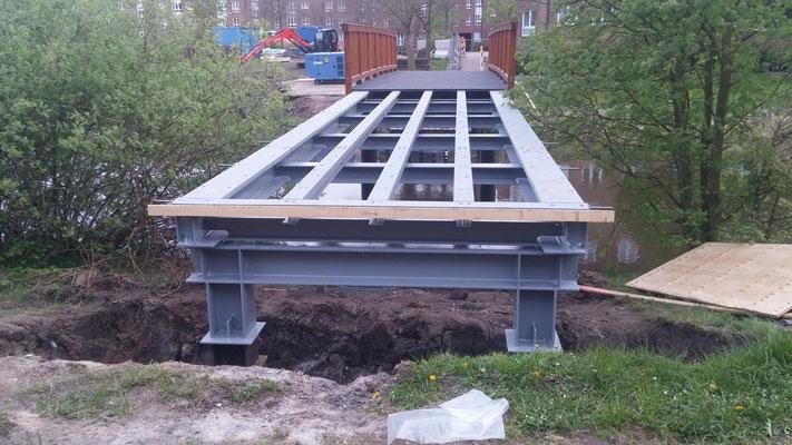 Zustand der Brücke an der Maria-Terwiel-Kehre am 27. April 2017
