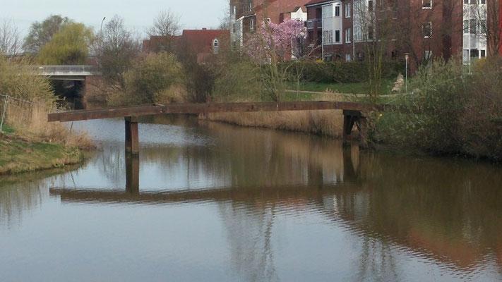 Zustand der Brücke an der Maria-Terwiel-Kehre am 31. März 2017