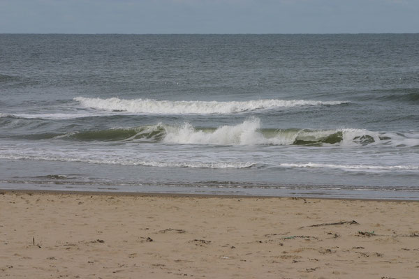 Rustige zee.